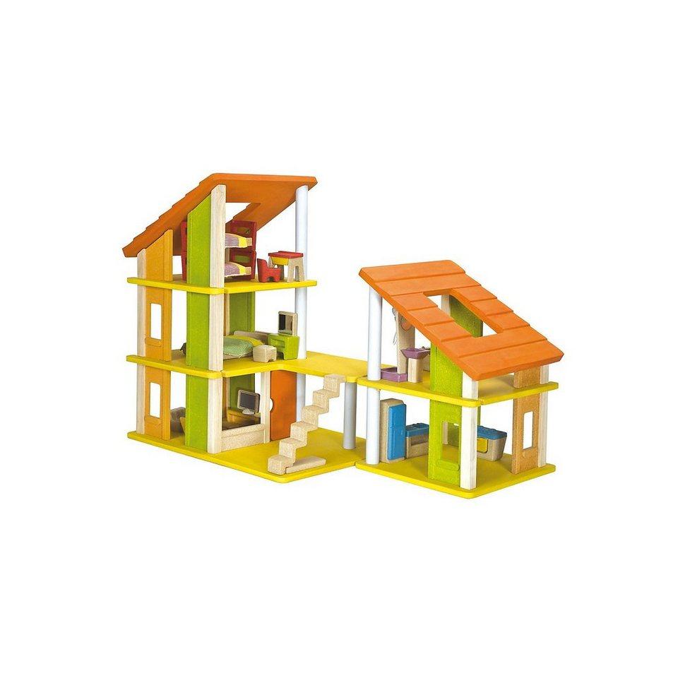 chalet puppenhaus plantoys holz puppenstube – bizfast, Moderne