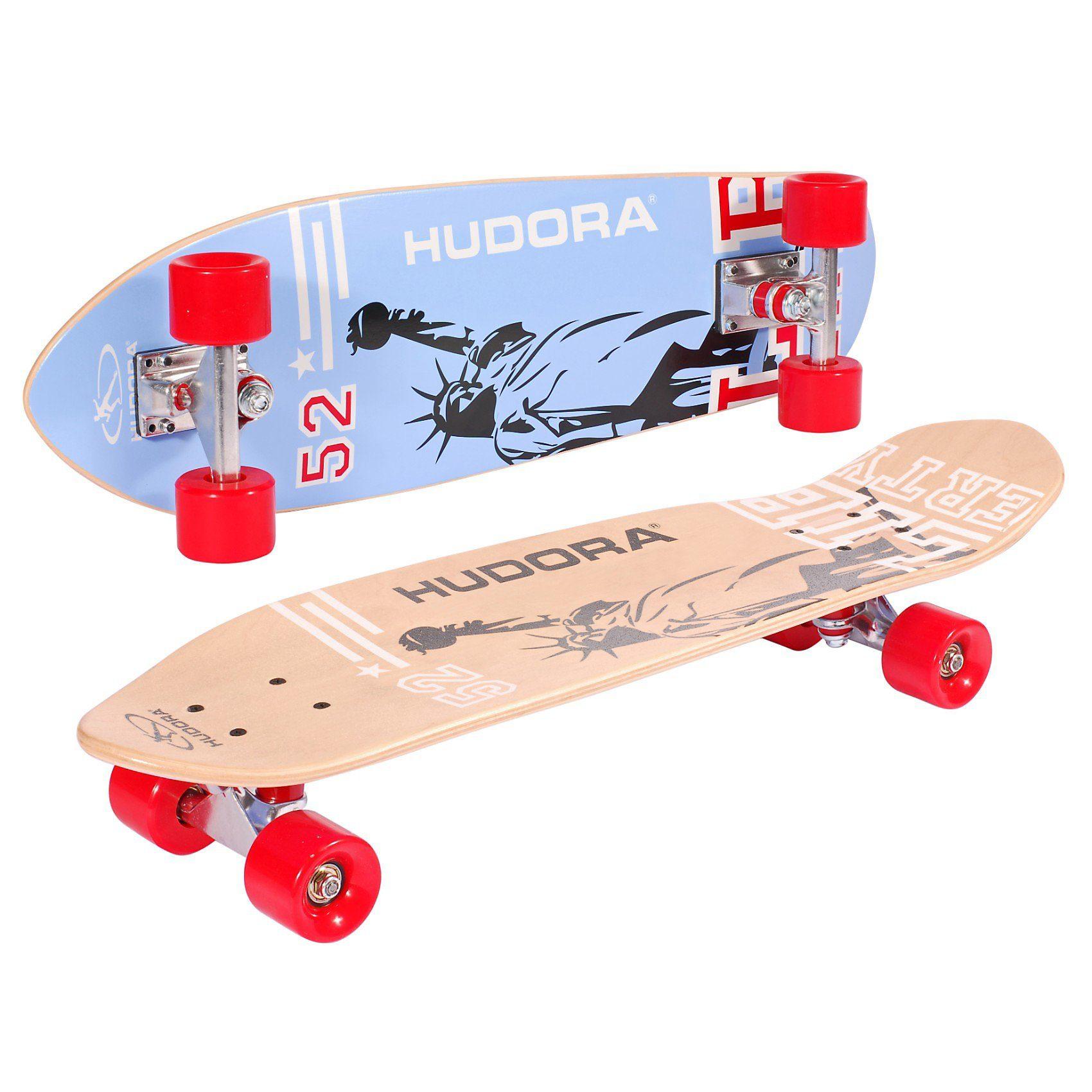 Hudora Skateboard Cruiser ABEC 7