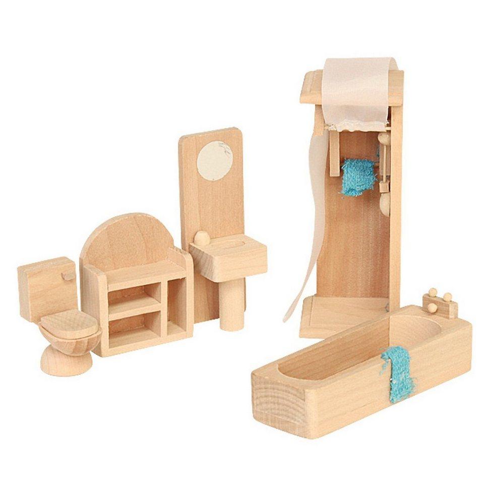 Beluga Puppenhausmöbel Badezimmer Holz Kaufen | Otto