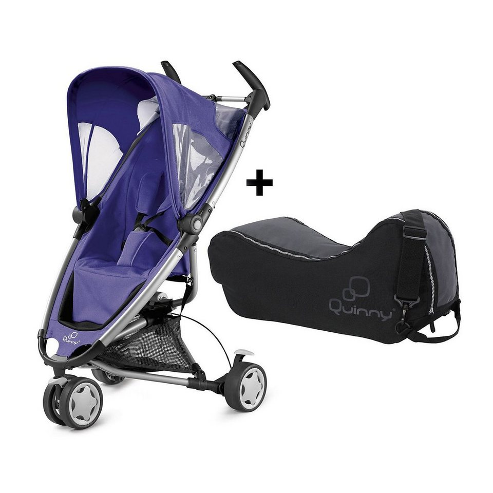 Quinny Buggy Zapp, Purple pace inkl. Transporttasche in lila