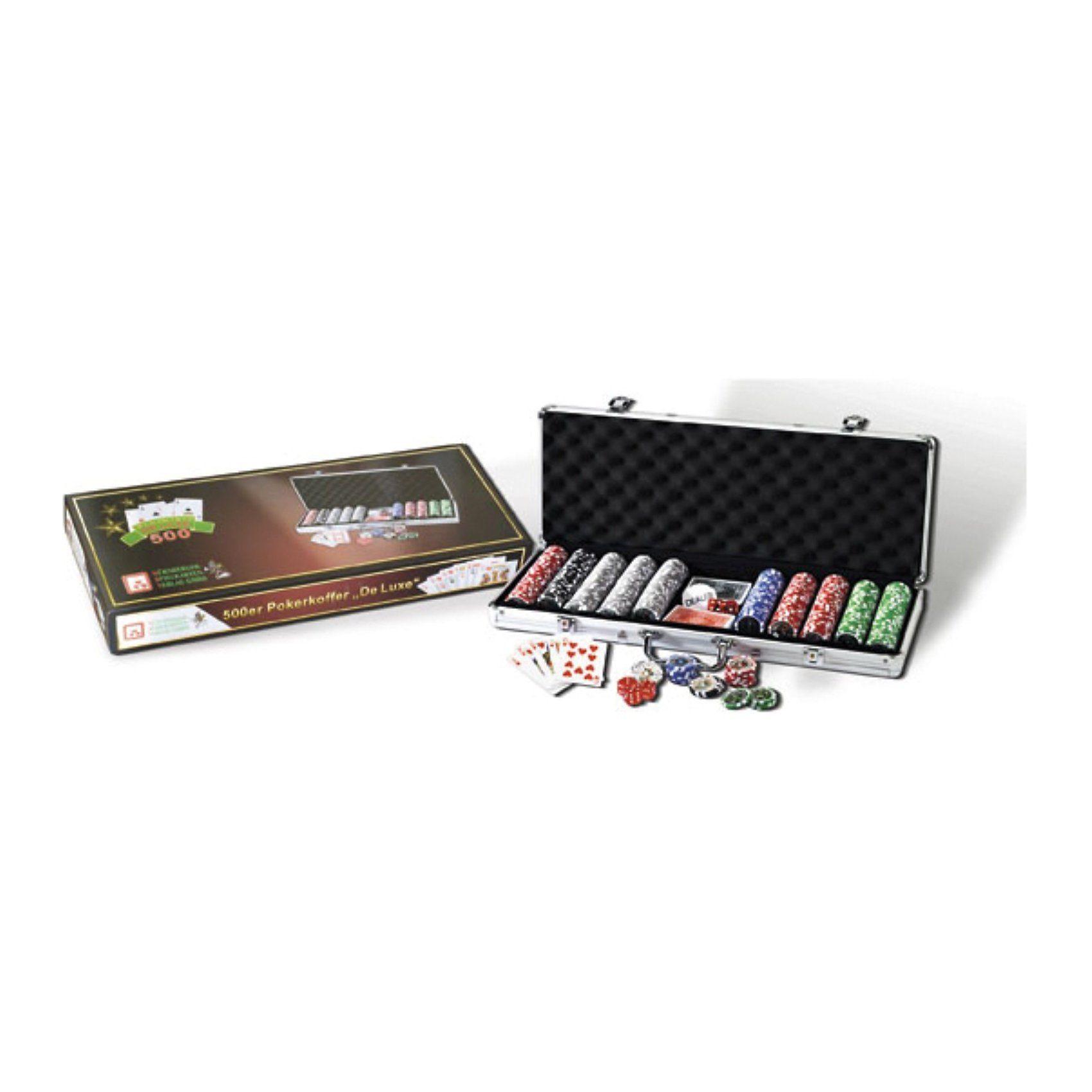 """Nürnberger Spielkarten 500er PokerSet """"De Luxe"""""""