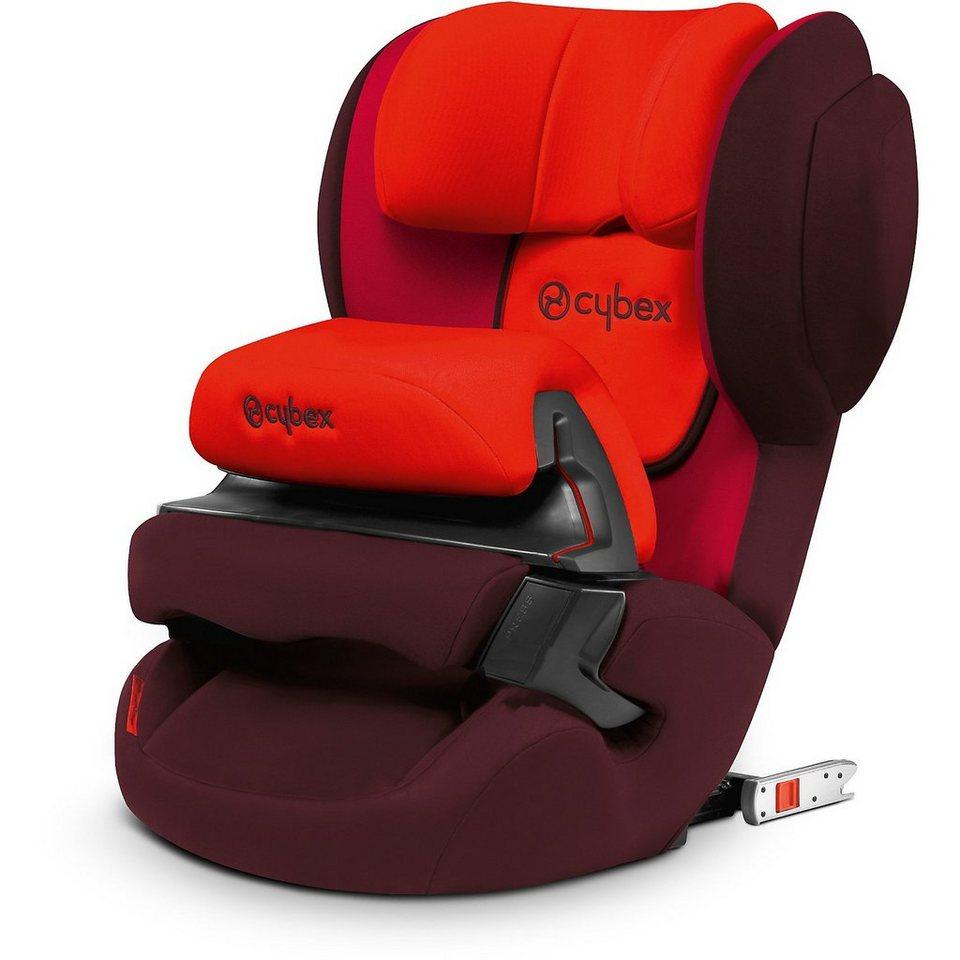 Cybex Auto-Kindersitz Juno-fix, Silver-Line, Rumba Red, 2016 in rot