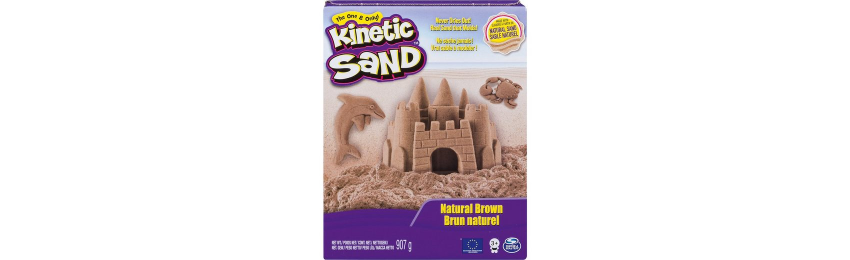 Spin Master Kinetic Sand Braun (907g)