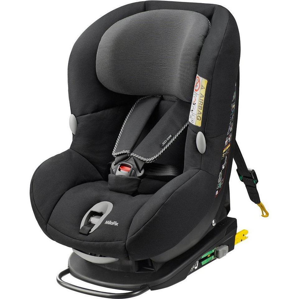 maxi cosi auto kindersitz milofix black raven 2015. Black Bedroom Furniture Sets. Home Design Ideas