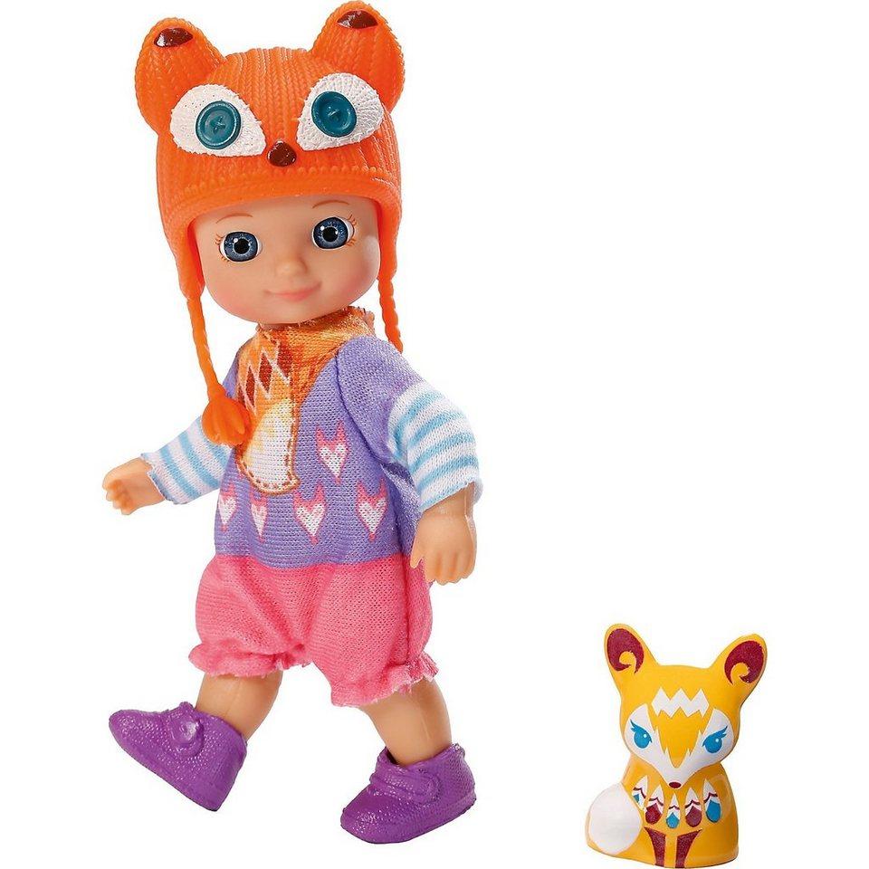 Zapf Creation mini CHOU CHOU Minipuppe Foxes Lucky, 12 cm