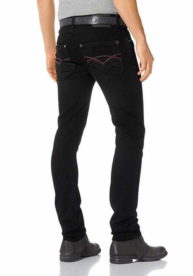 Bruno Banani Slim-fit-Jeans »Brad (Stretch)« in black