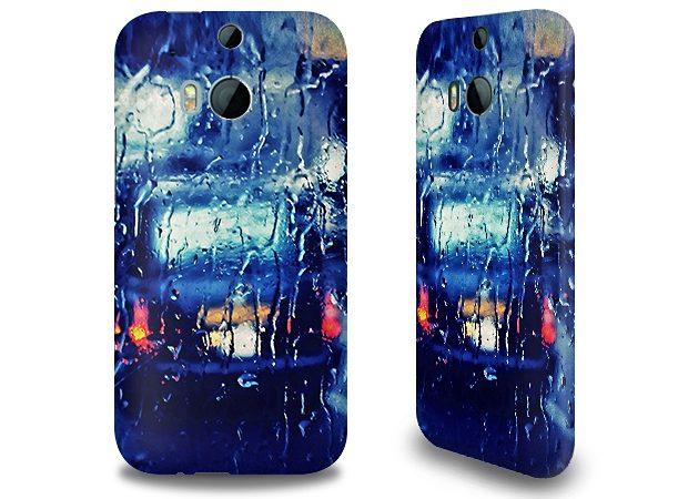 caseable Premium Hülle für das HTC One M8, Hardcase aus recyceltem PET mi