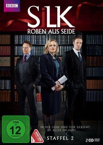 DVD »Silk - Roben aus Seide, Staffel 2 (2 Discs)«