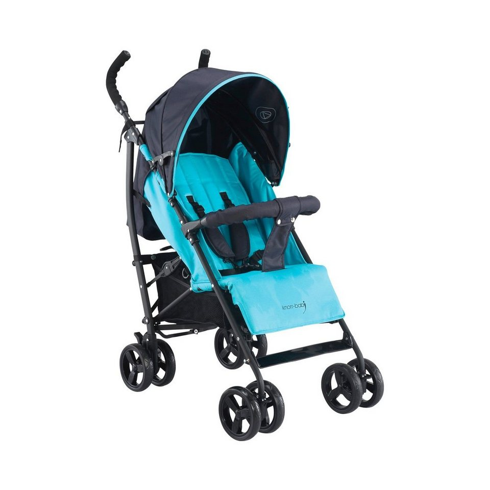 KNORR-BABY Styler Happy Colour Buggy mit Schlummerverdeck und... in blau