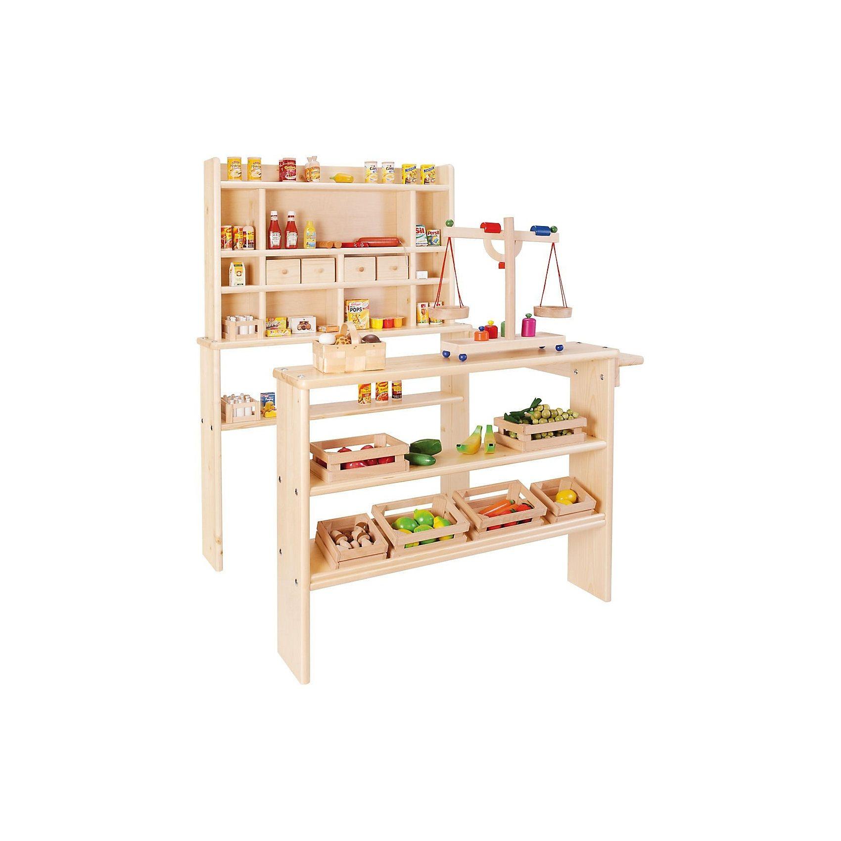 Nemmer Kaufladen, Holz
