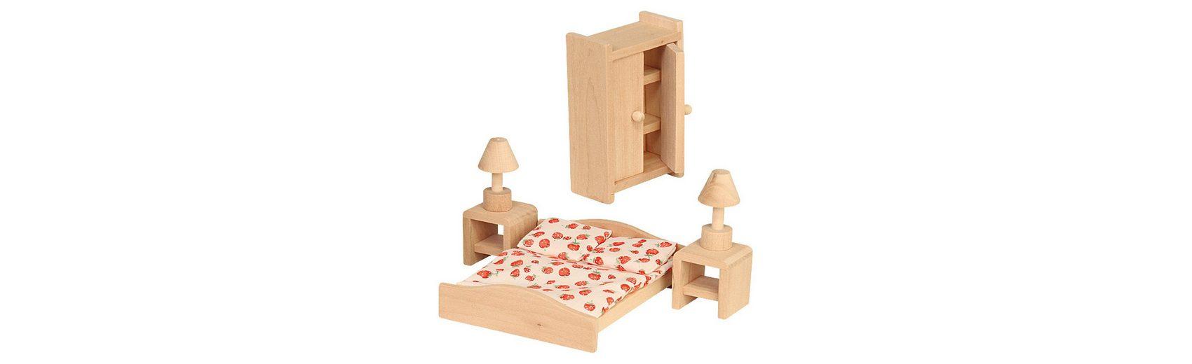 Beluga Puppenhausmöbel Schlafzimmer Holz