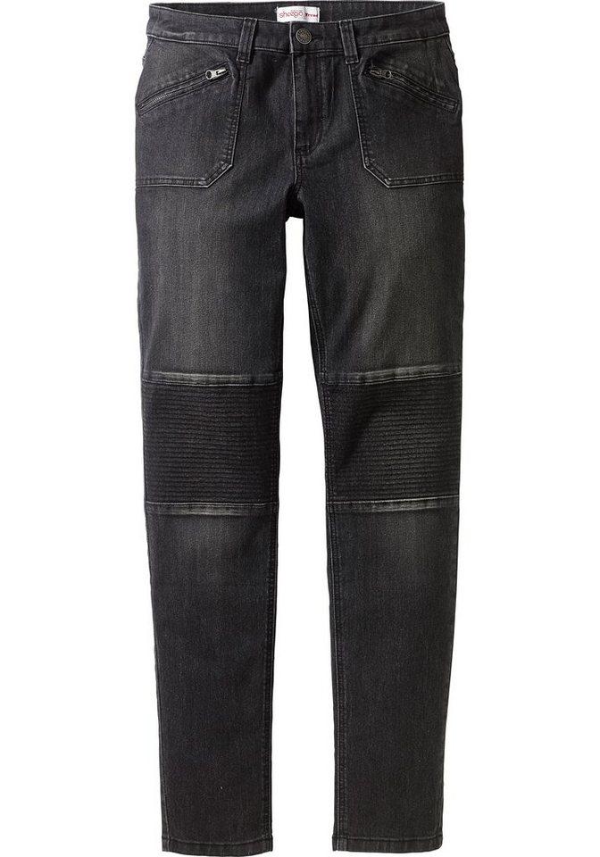 sheego Denim Stretch-Jeans »Die Schmale« in black used