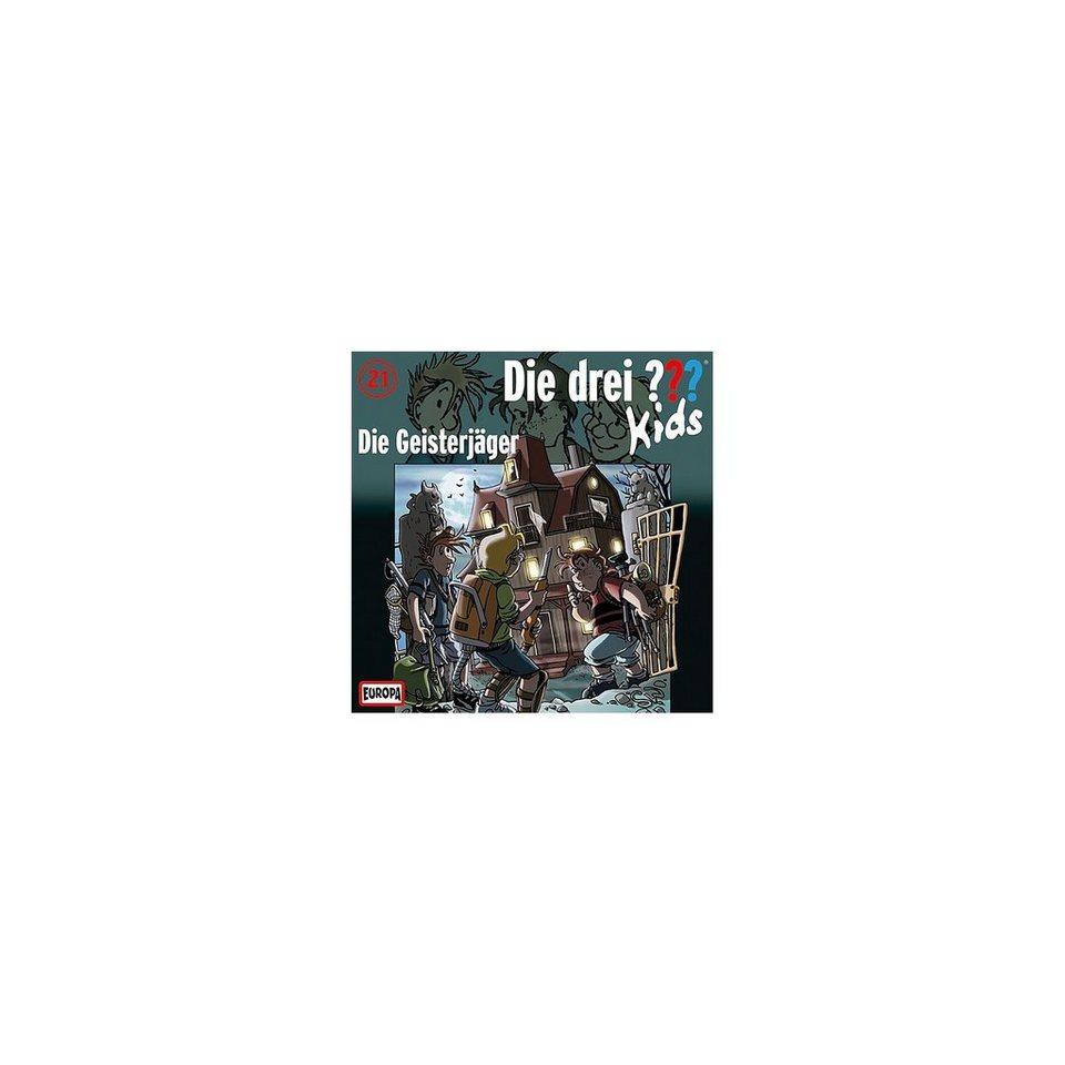 SONY BMG MUSIC CD Die drei ??? Kids 21-Die Geisterjäger