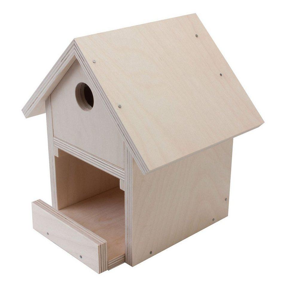 pebaro holzbausatz vogelhaus online kaufen otto. Black Bedroom Furniture Sets. Home Design Ideas