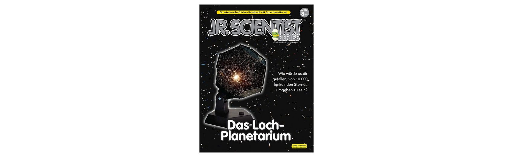 Edu-Toys Planetarium Bausatz mit Buch