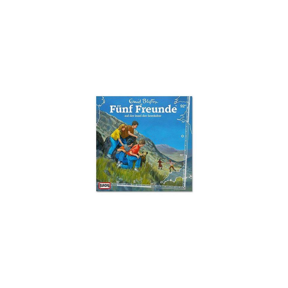 SONY BMG MUSIC CD Fünf Freunde 92 - auf der Insel der Seeräuber