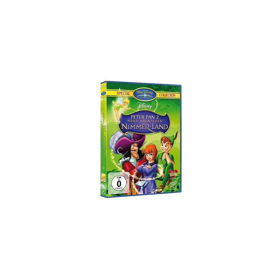 Disney DVD DVD Disney's Peter Pan 2 - Neue Abenteuer in Nimmerland