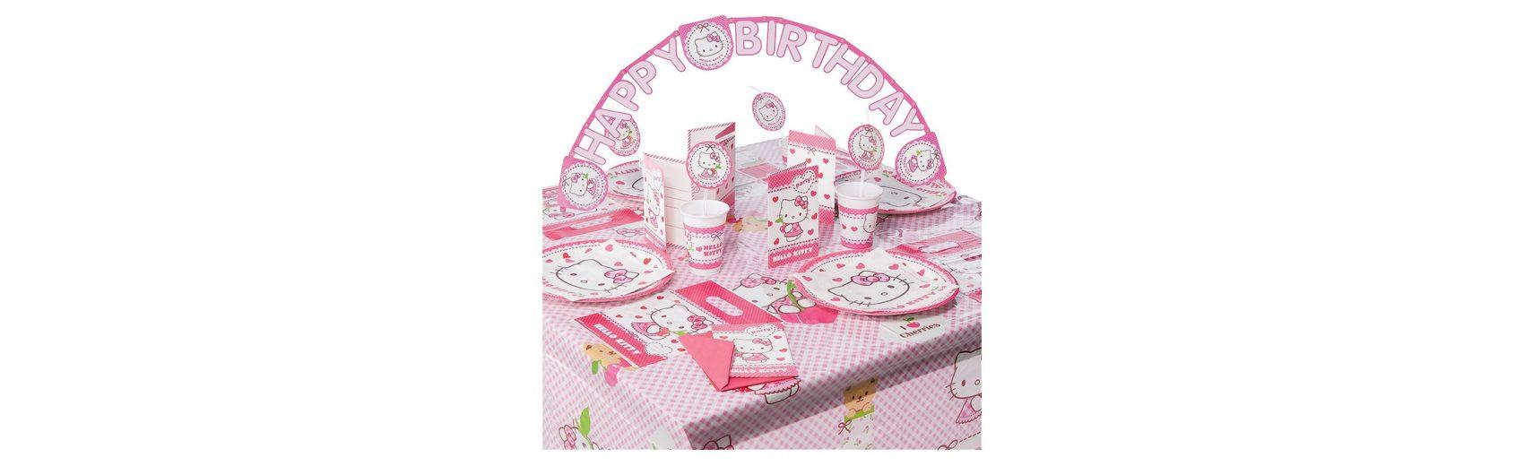 Procos Partyset Hello Kitty Hearts 56-tlg.