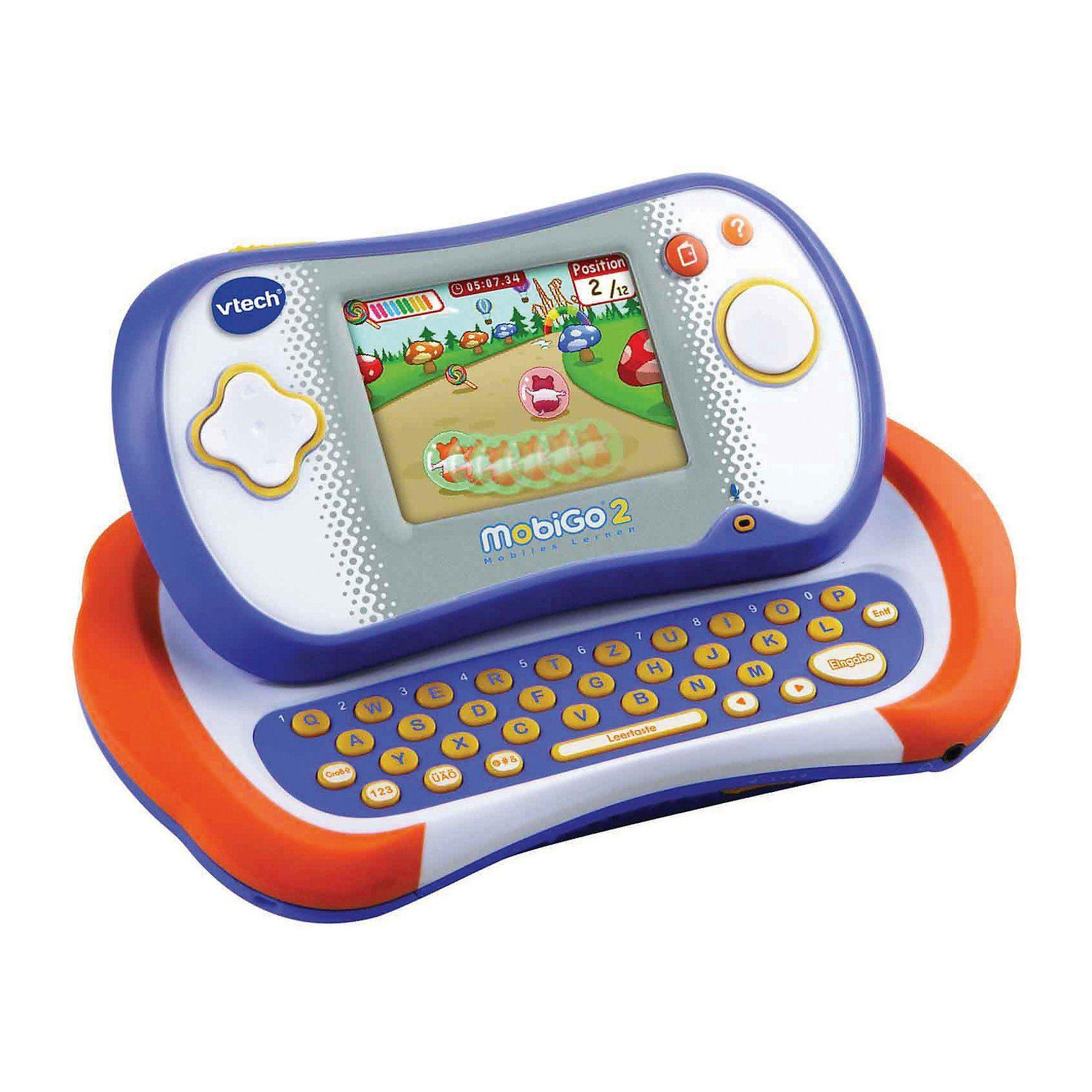 Vtech MobiGo 2 Lernkonsole inkl. Spiel, blau-orange