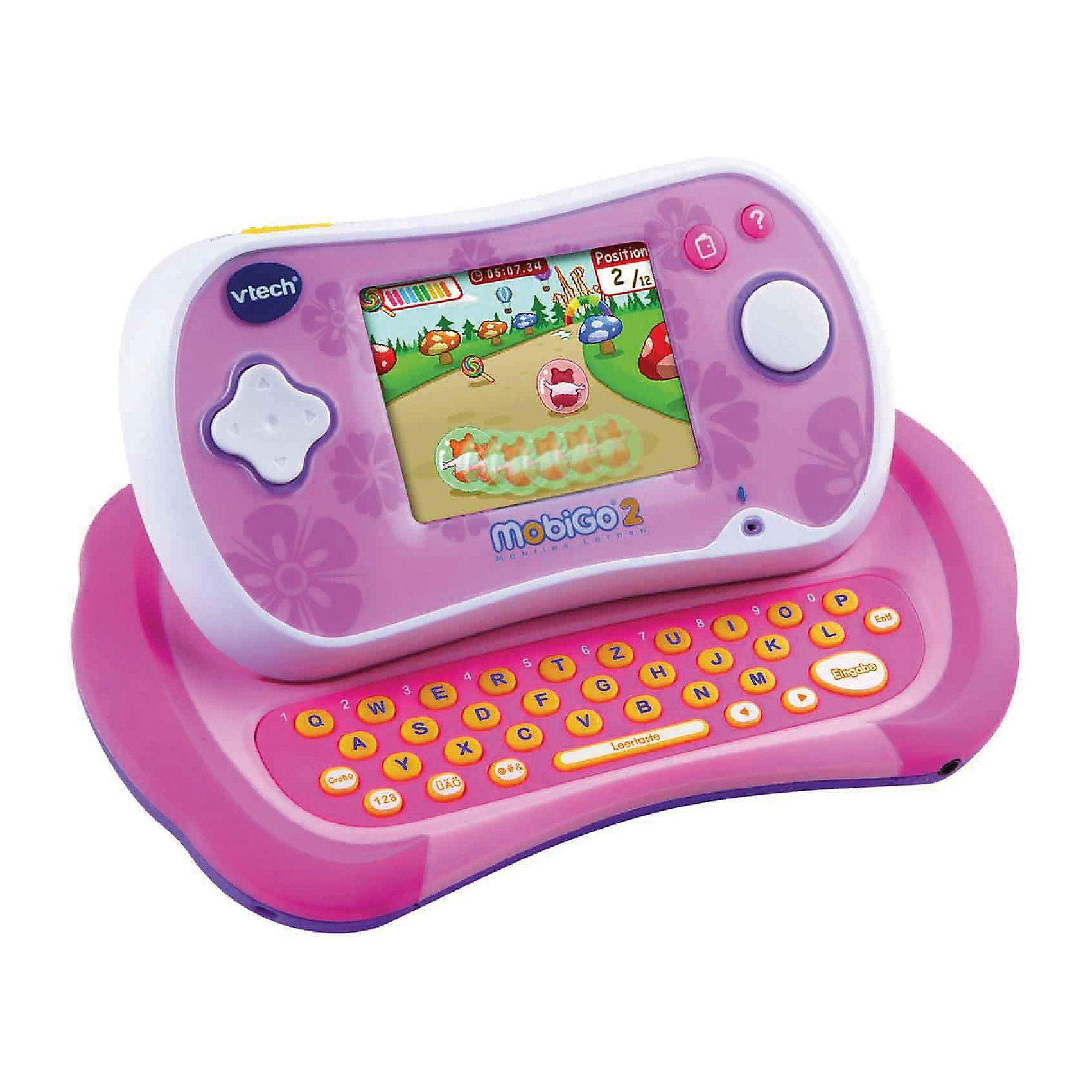 Vtech MobiGo 2 Lernkonsole inkl. Spiel, pink