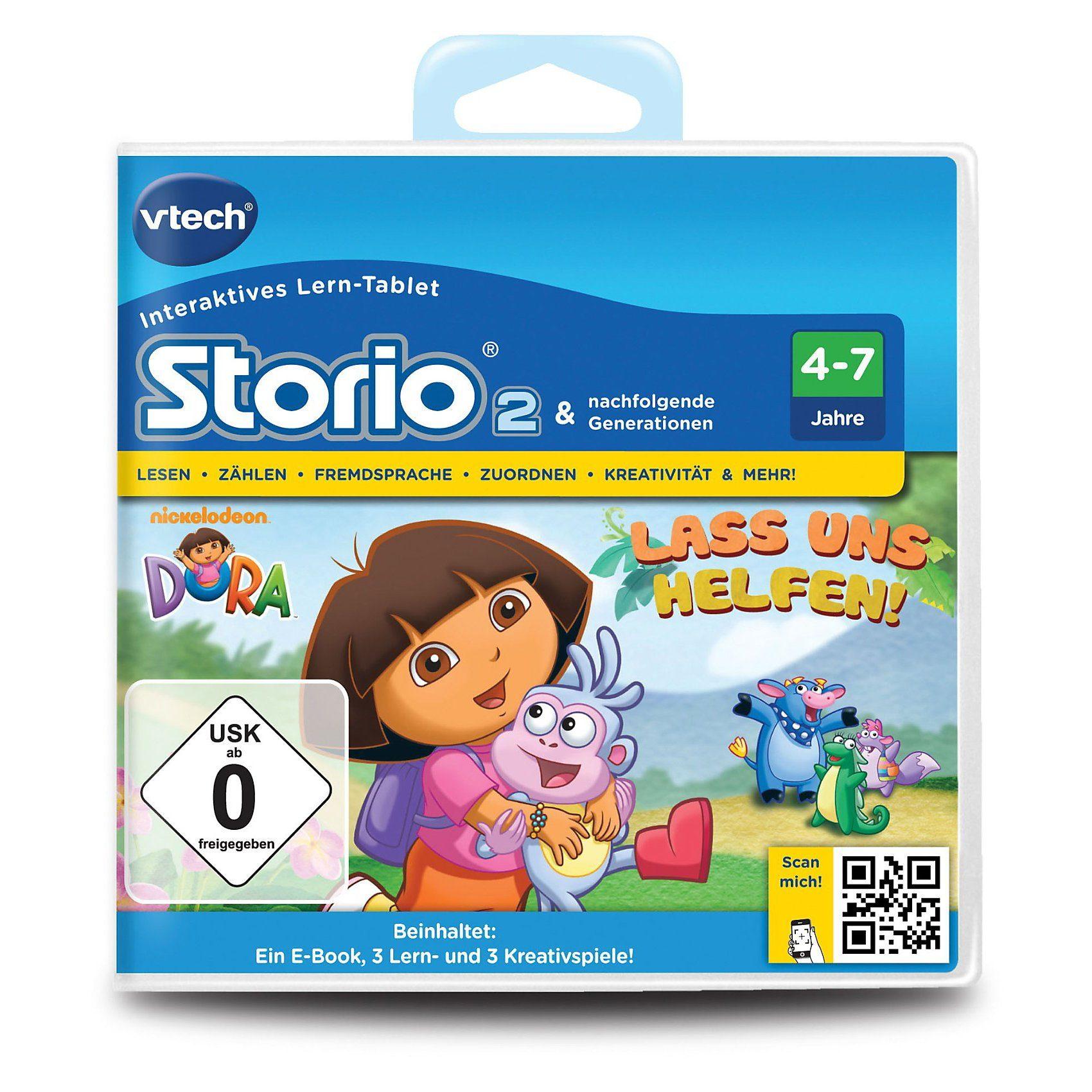 "Vtech Storio 2, 3 & Max Lernspiel ""Dora"""