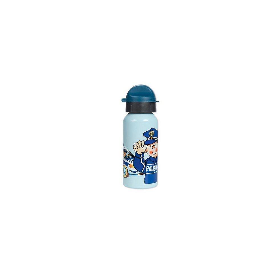 Lutz Mauder Verlag Trinkflasche Polizei, 400 ml in blau
