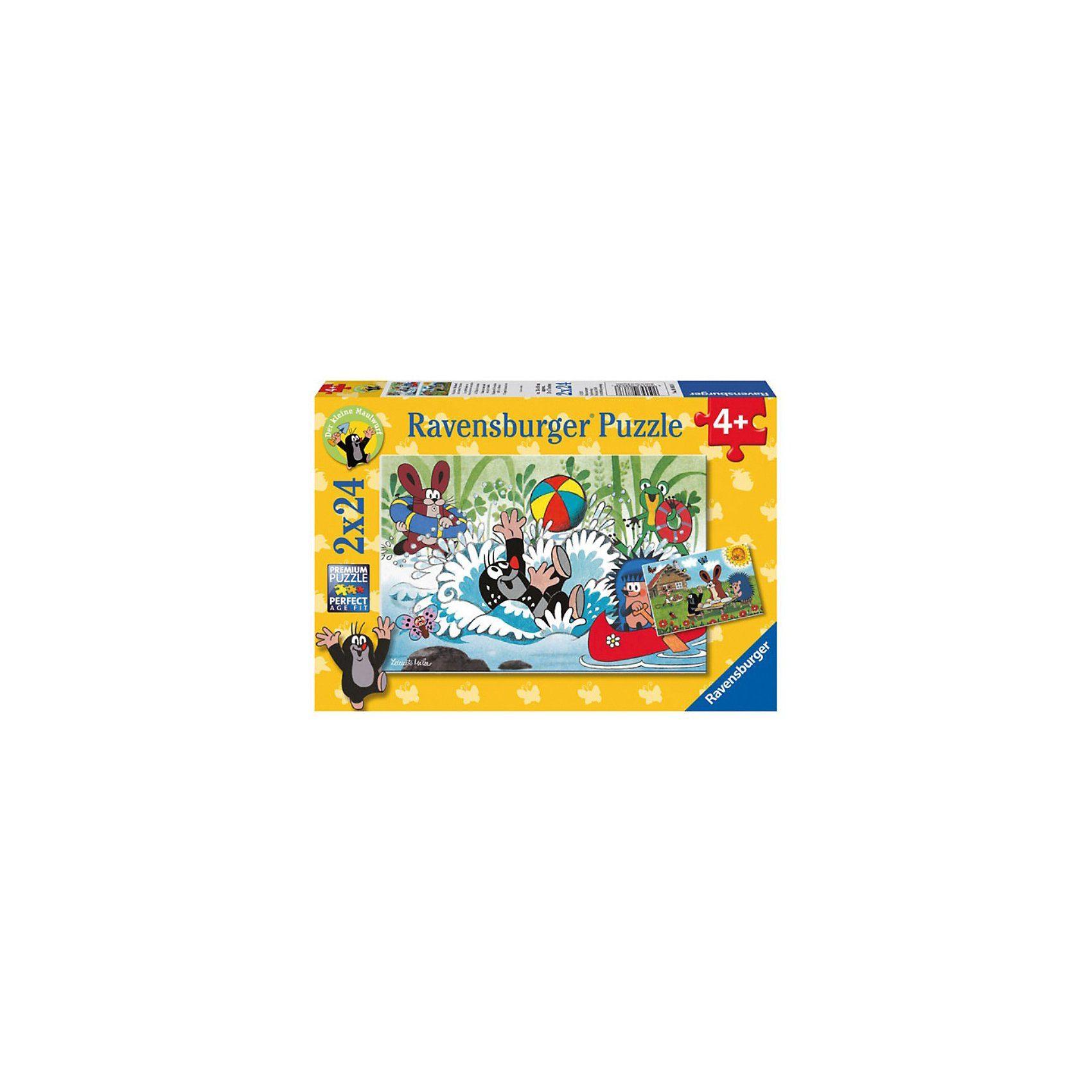 Ravensburger Der kleine Maulwurf: Urlaub mit Maulwurf und seinen Freunden