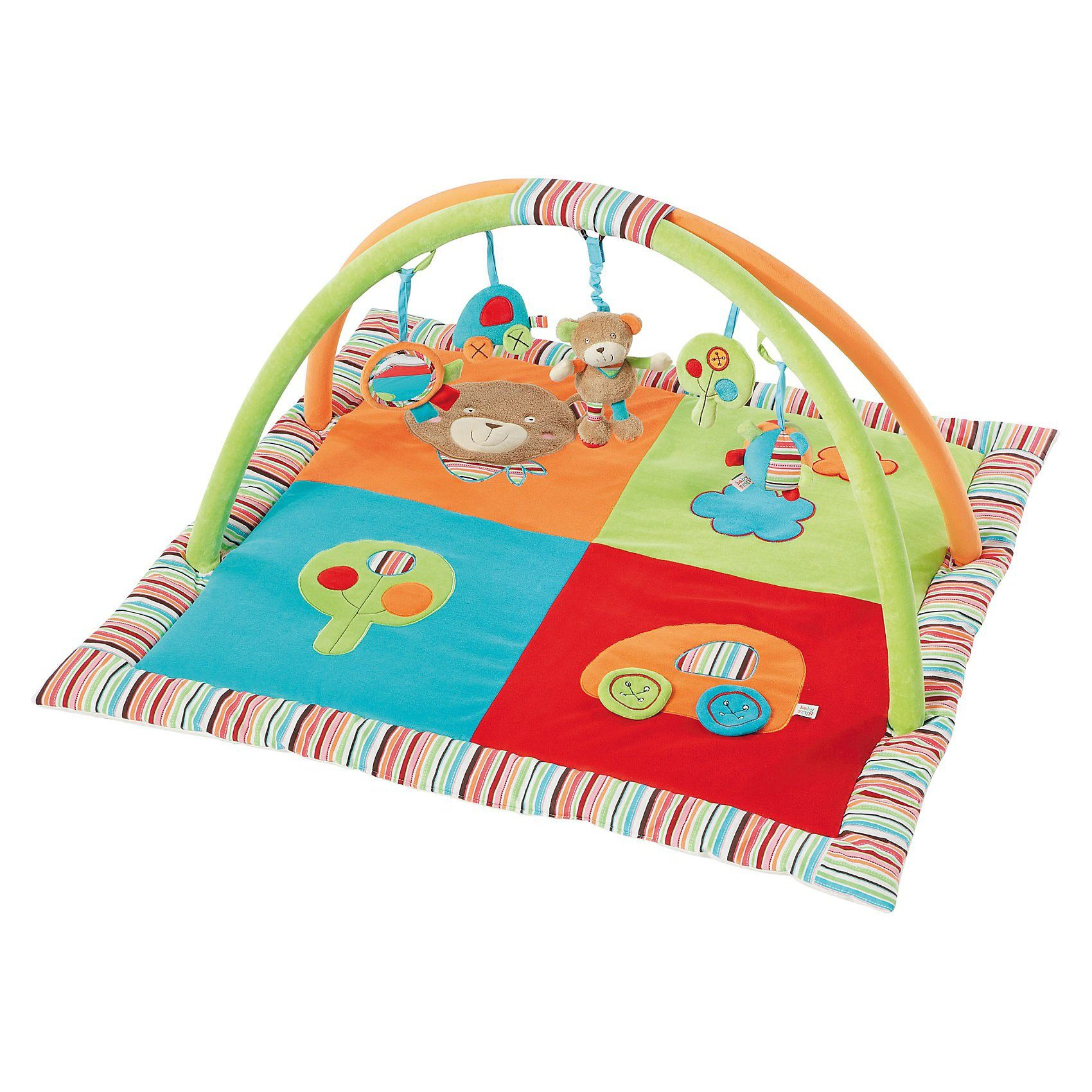 Fehn Spielbogen Activity-Decke Teddy