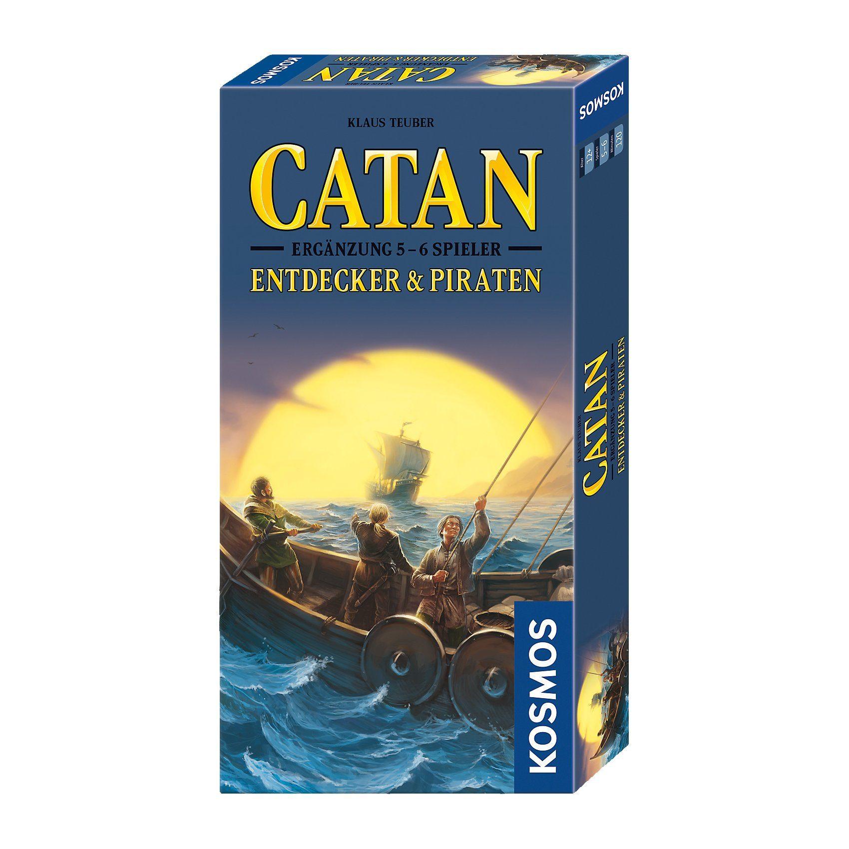 Kosmos Catan - Ergänzung Entdecker & Piraten 5-6 Spieler