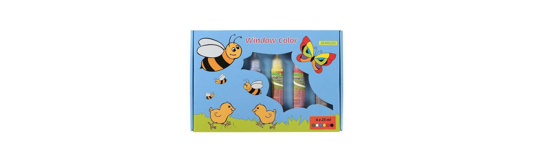 Stanger Window Color Set Frühling, 7-tlg.