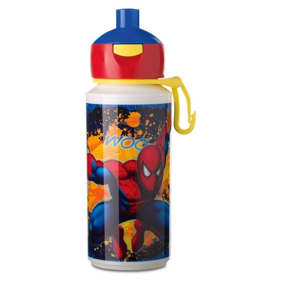 Trinkflasche Campus pop-up Spiderman, 275 ml in rot