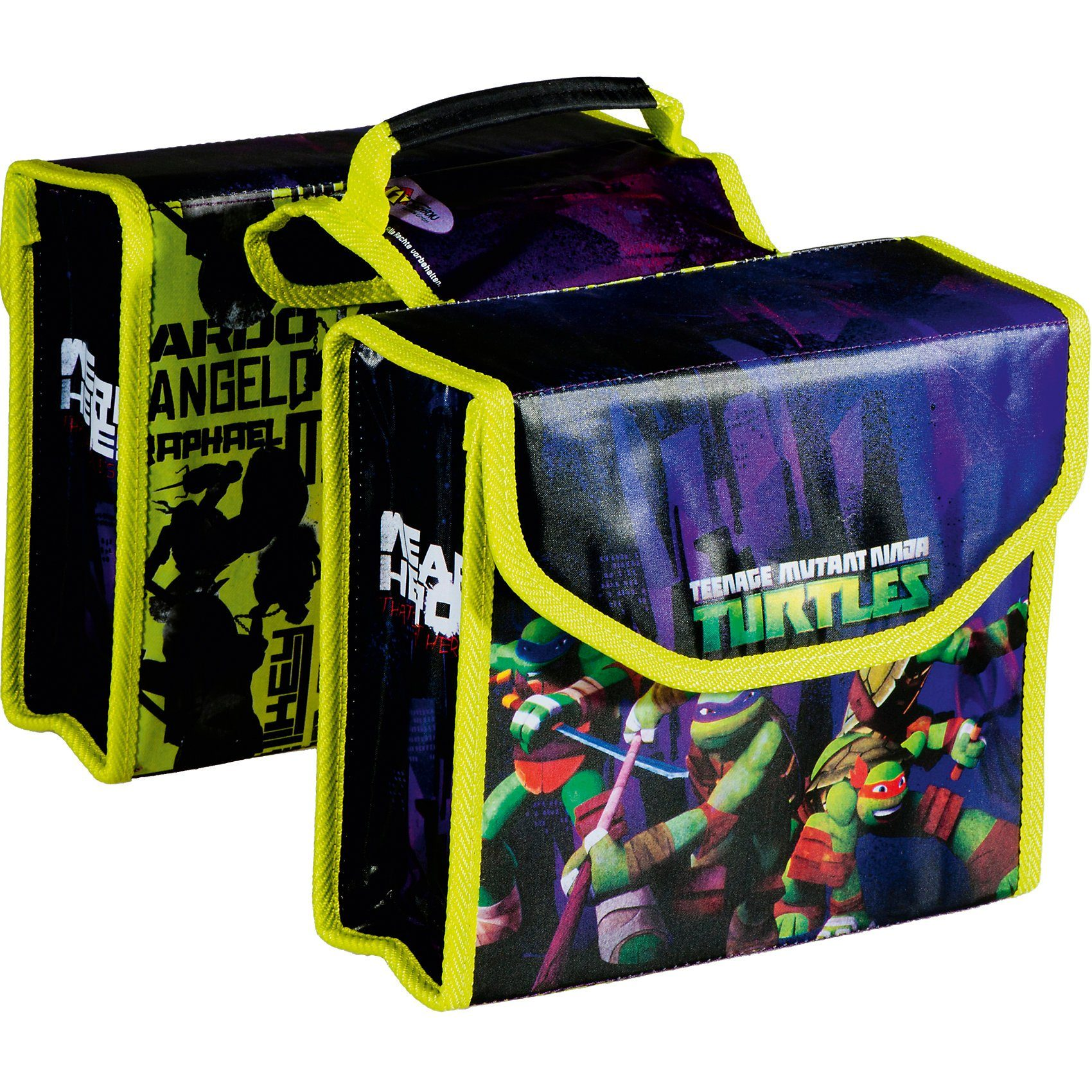 Bike Fashion Teenage Mutant Ninja Turtles Doppelpacktasche