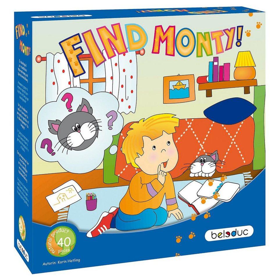 HAPE Spiel-Find Monty!