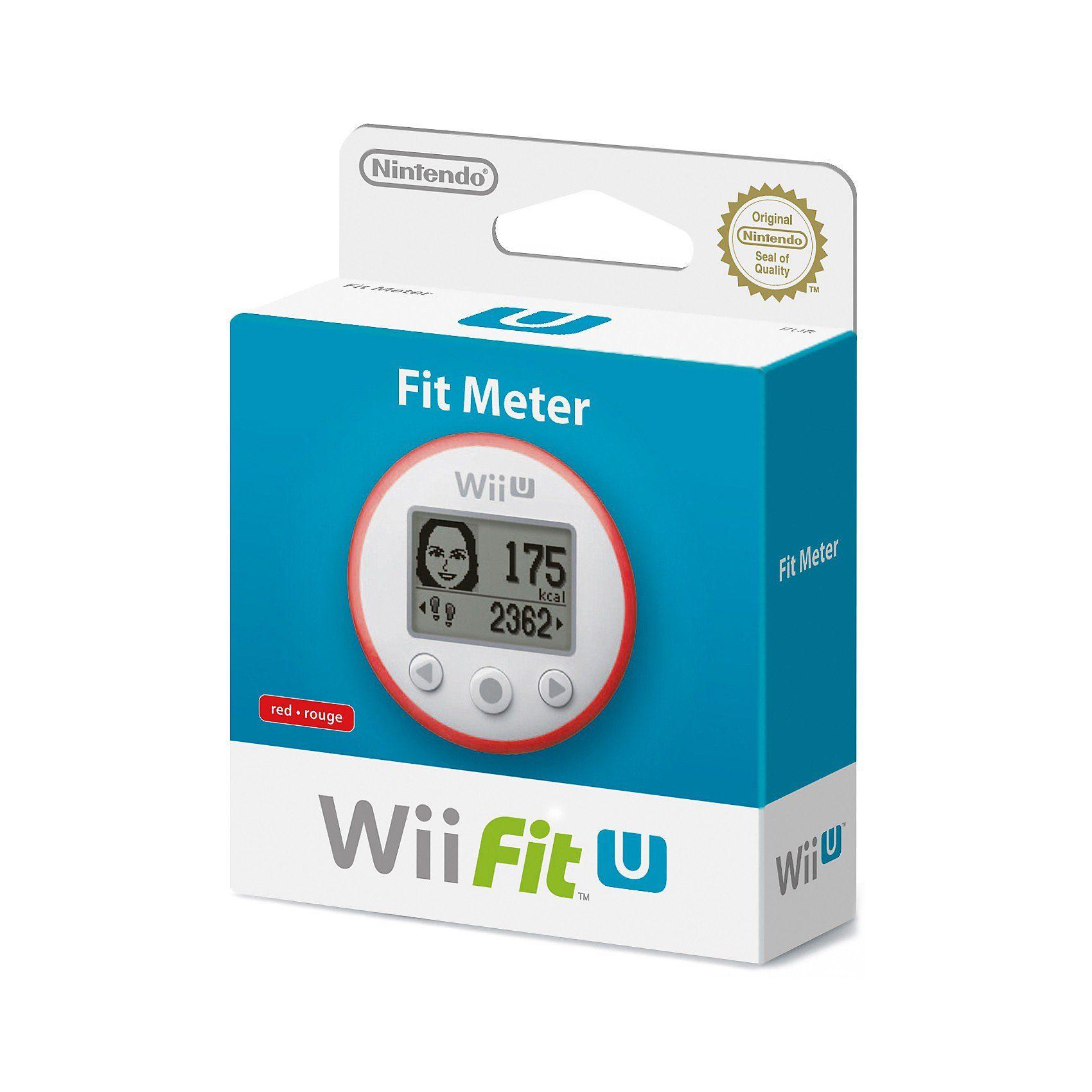Nintendo Wii U Fit Meter rot