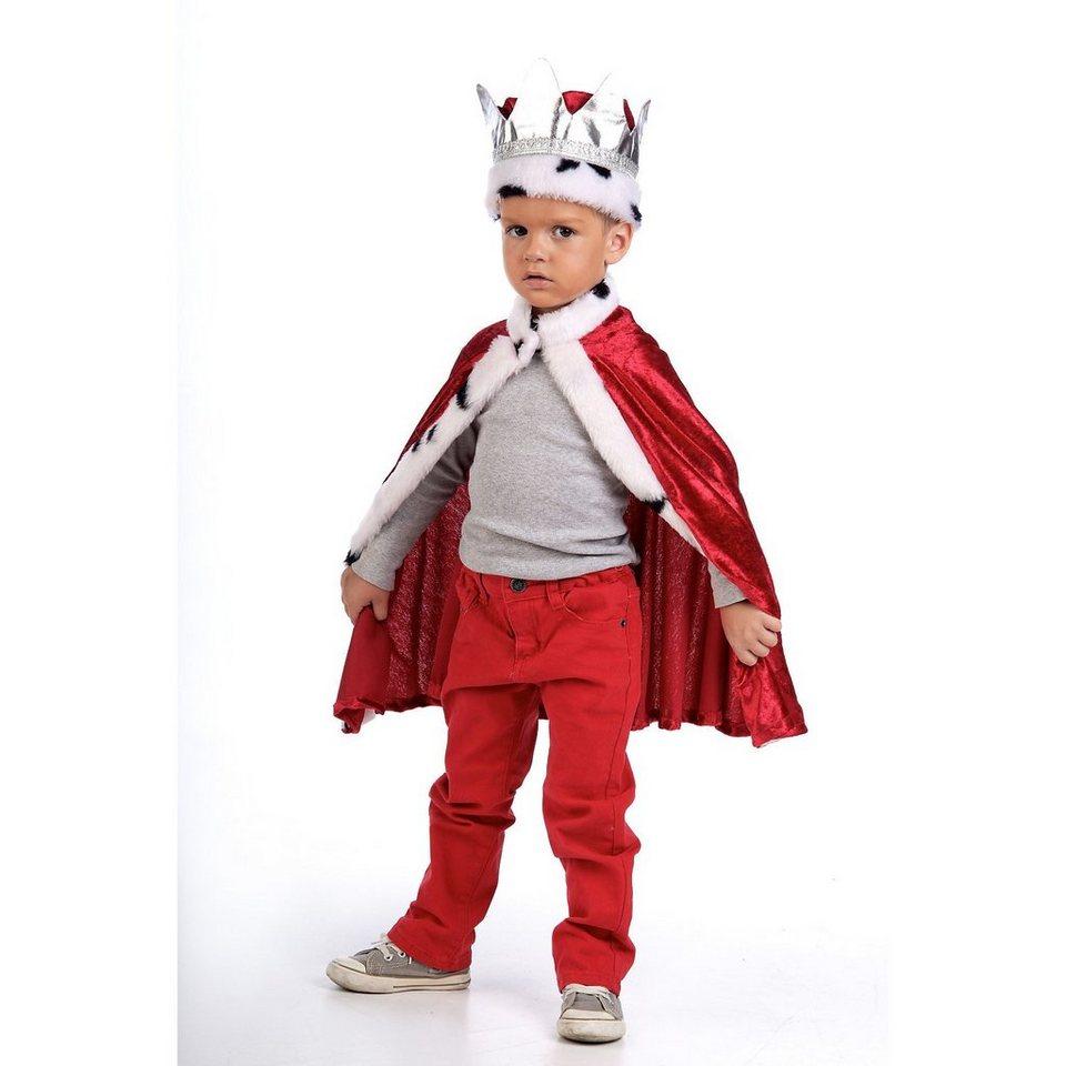 Limit Kostüm Königsumhang und -krone online kaufen