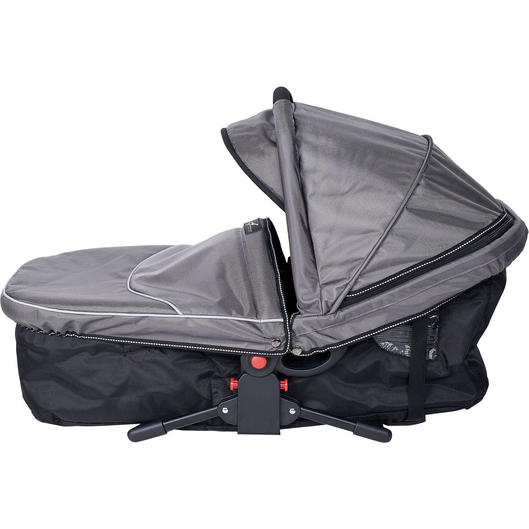 TFK Kinderwagenaufsatz Multi X, grau