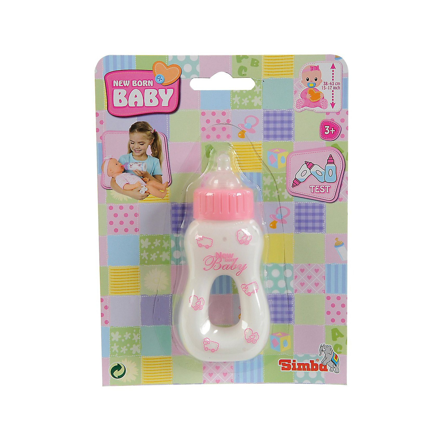Simba New Born Baby Magisches Milchfläschchen Puppenzubehör