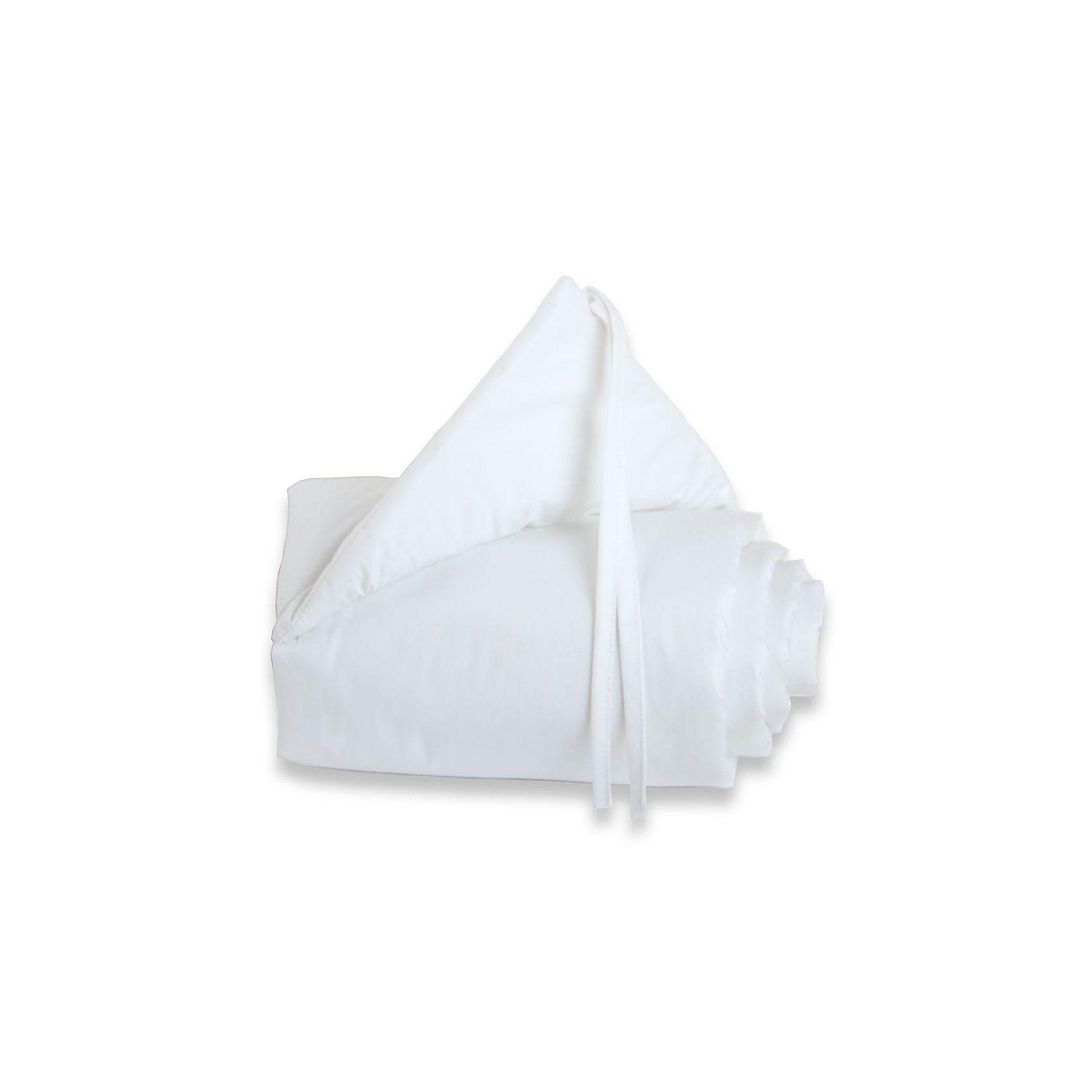 Tobi Nestchen für babybay mini/midi, weiß, 157 x 25 cm