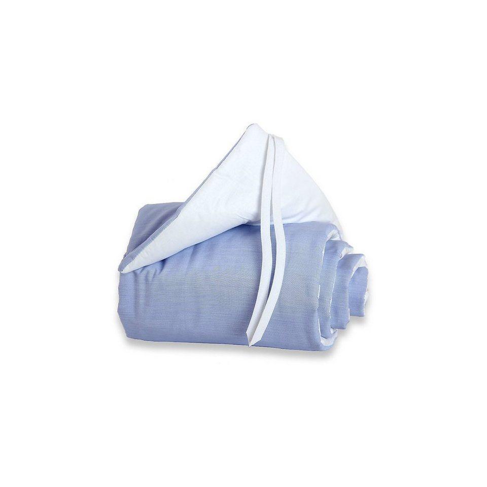 Tobi Nestchen für babybay mini/midi, blau, 157 x 25 cm in blau