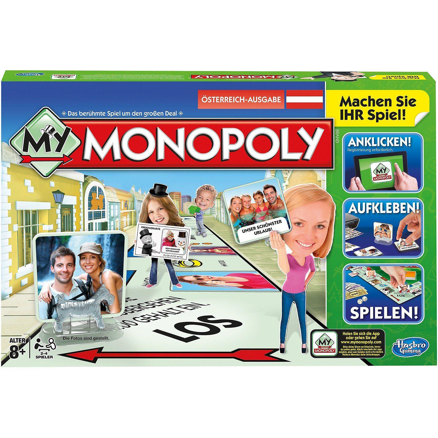 Hasbro My Monopoly - österreichische Version
