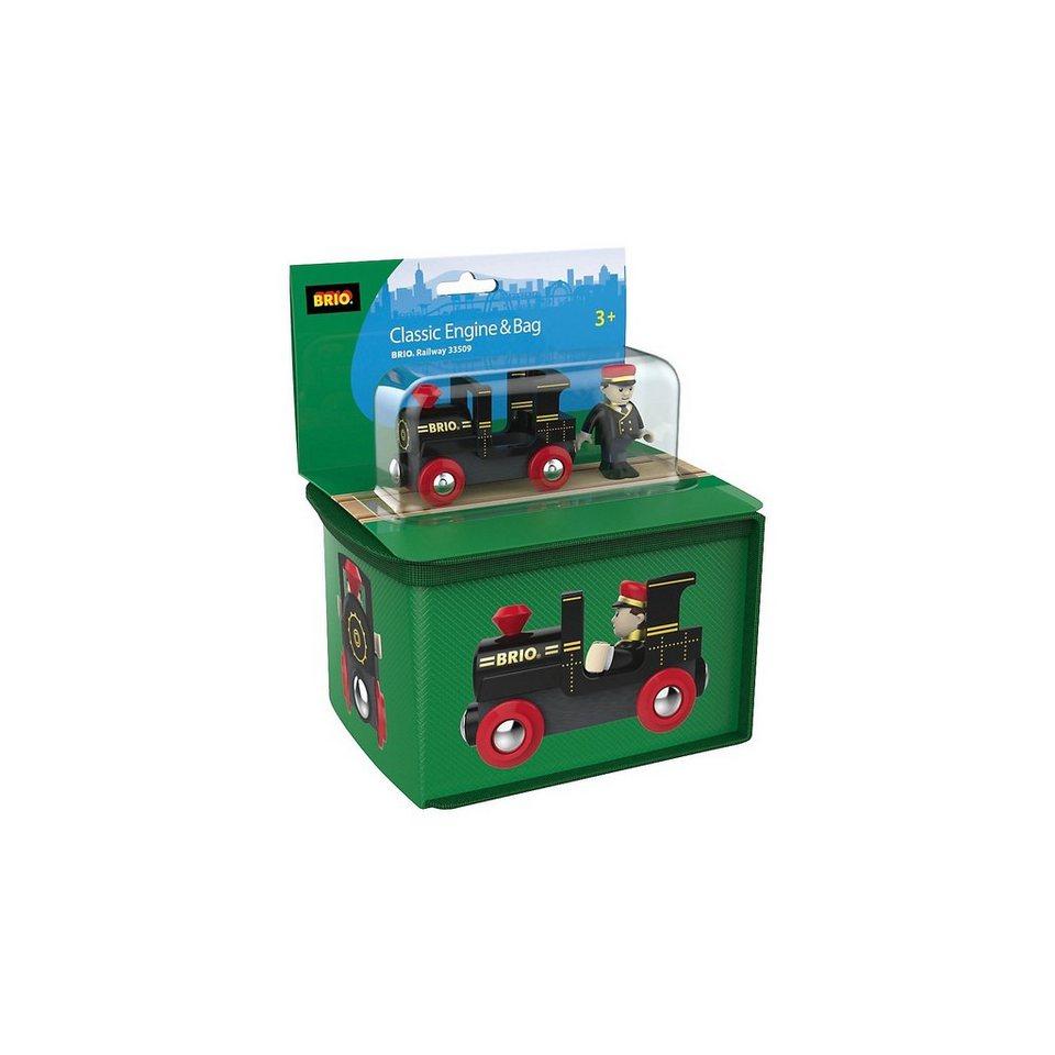 BRIO Aufbewahrungsbox mit Lok