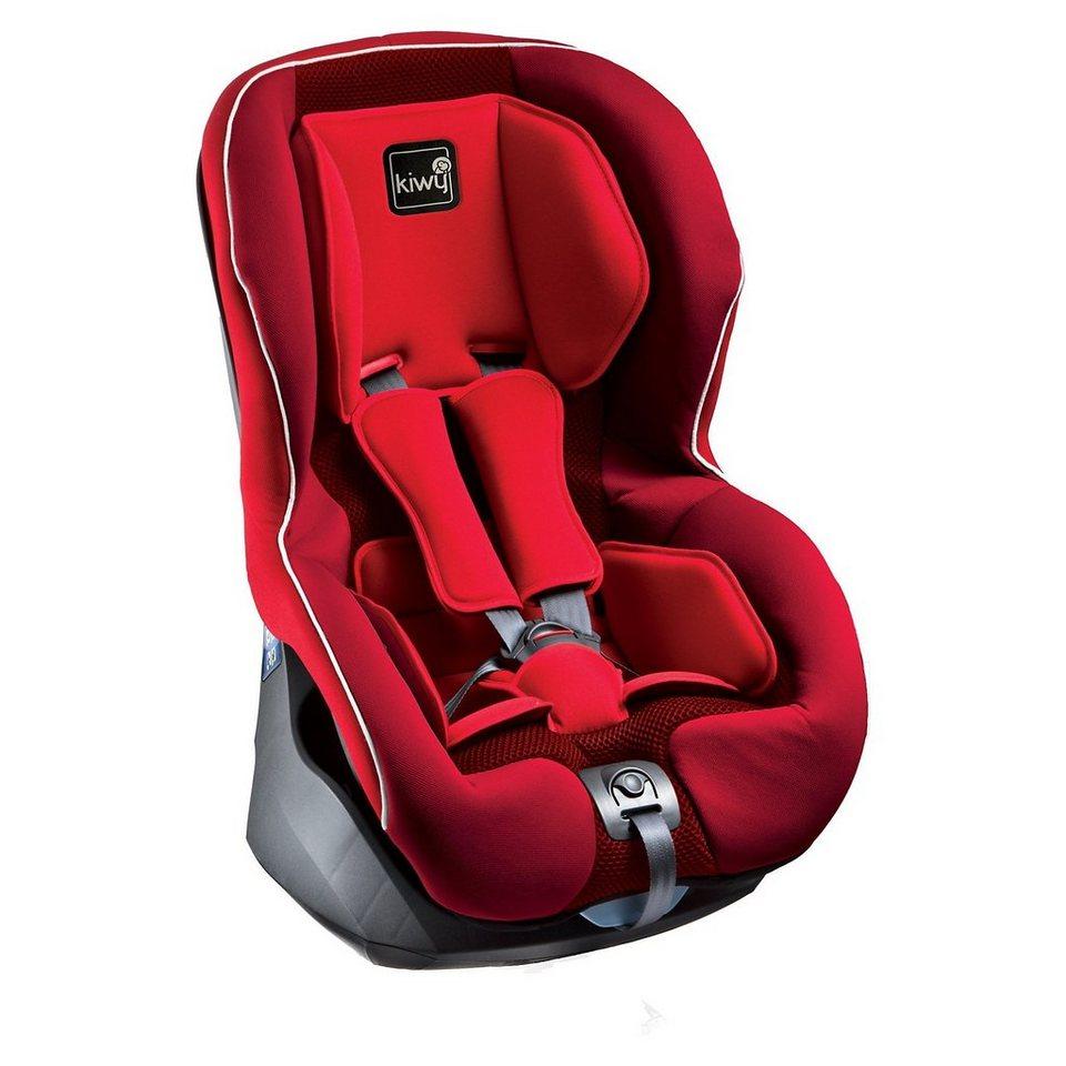 Kiwy Auto-Kindersitz SP1 SA-ATS, Cherry, 2016 in rot