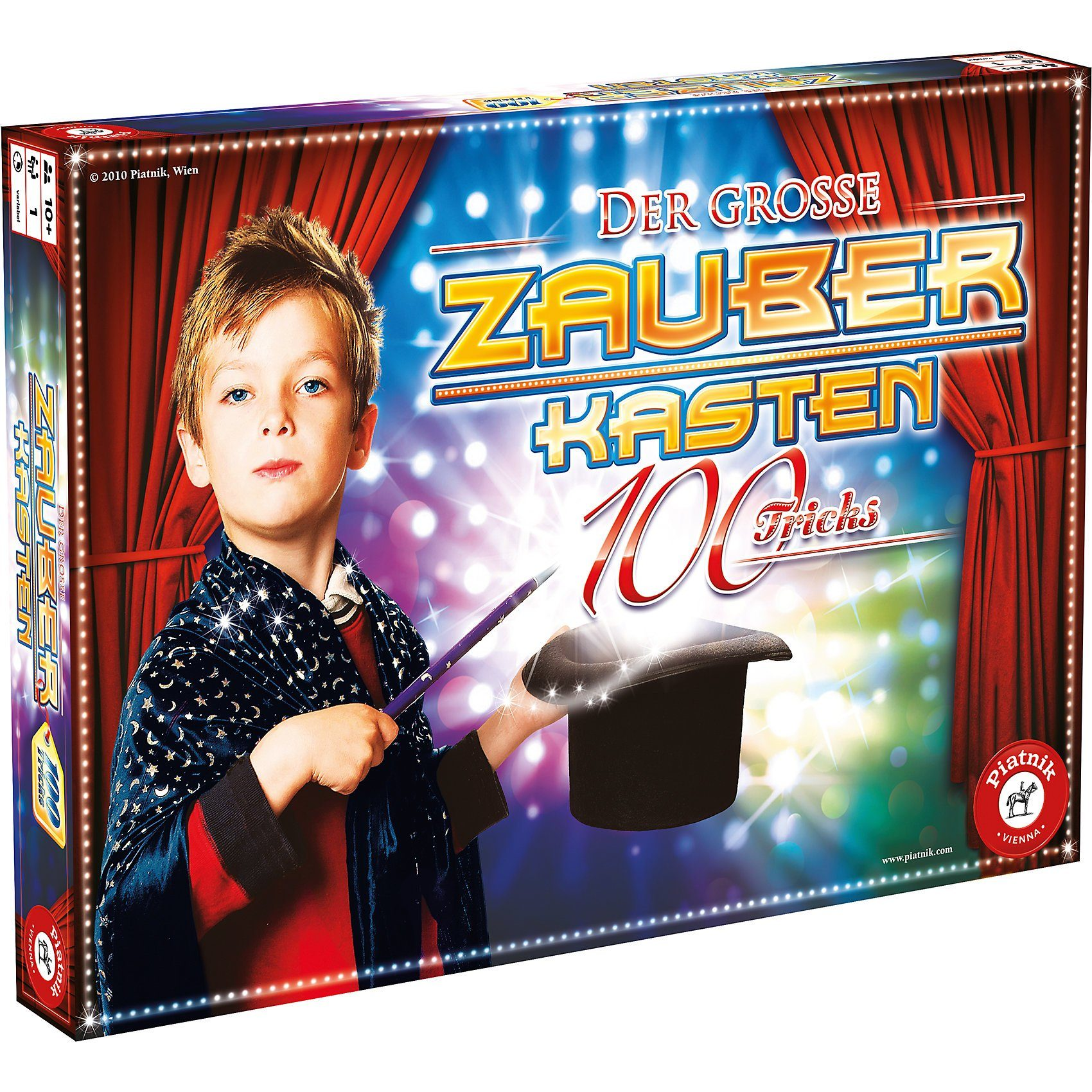 Piatnik Der große Zauberkasten mit 100 Tricks