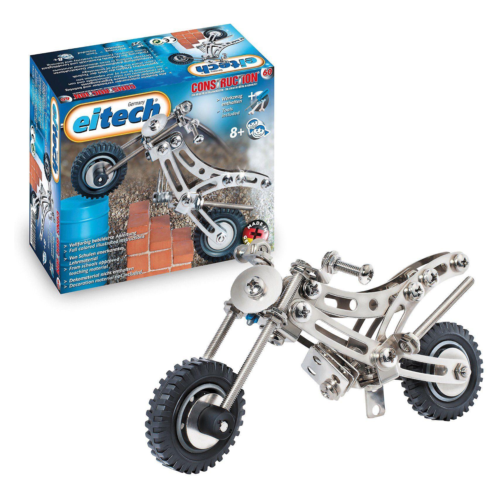 """Eitech C60 EINSTEIGER Metallbaukasten - """"Trial Bike"""""""