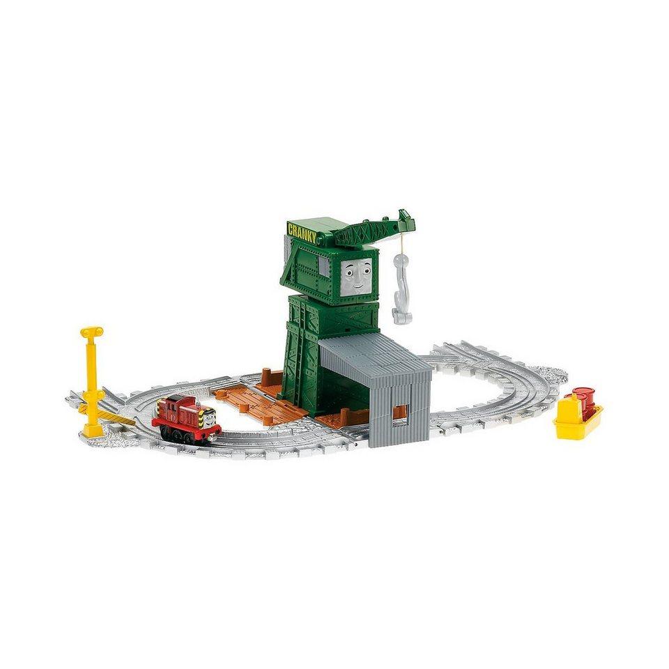 Mattel Thomas und seine Freunde - Take-n-Play Cranky bei den Docks