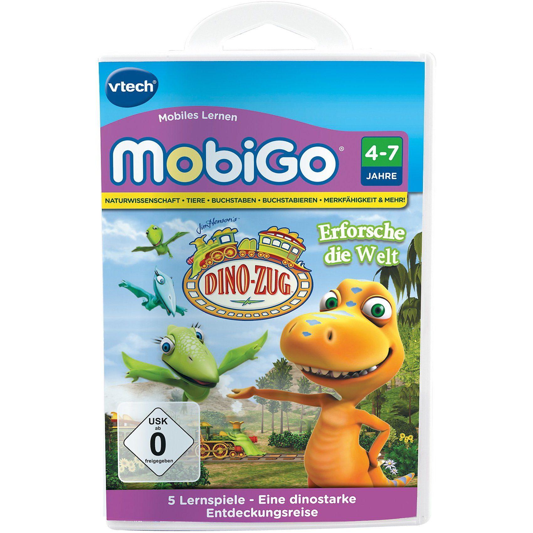 "Vtech MobiGo Lernspiel ""Dino-Zug"""