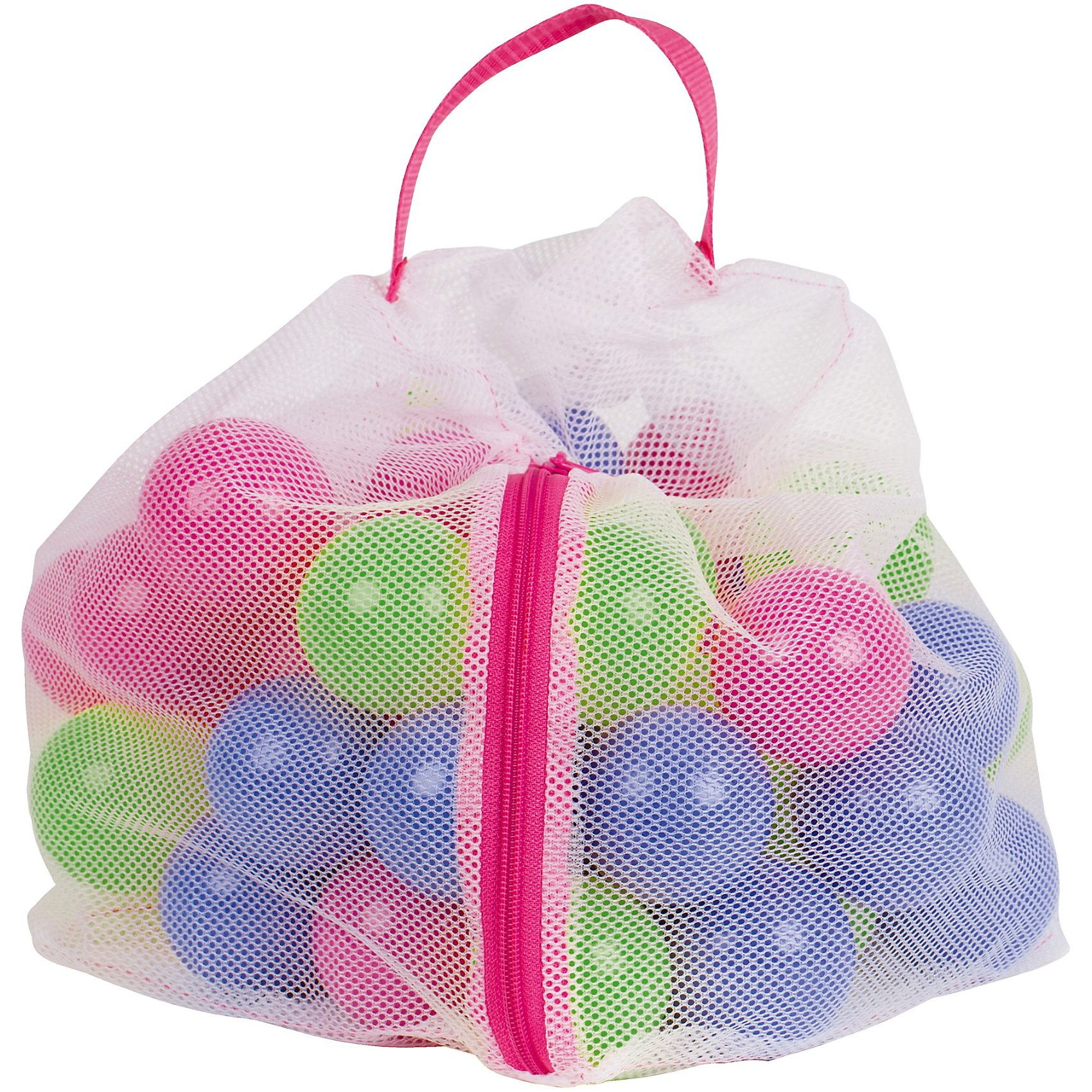 JOHN PE-Bälle 50-tlg. pink/grün/blau