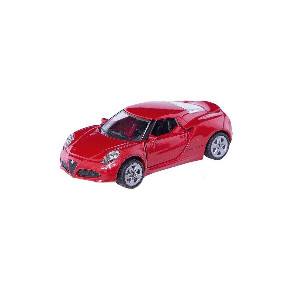 SIKU Super 1451 Alfa Romeo 4C 1:55
