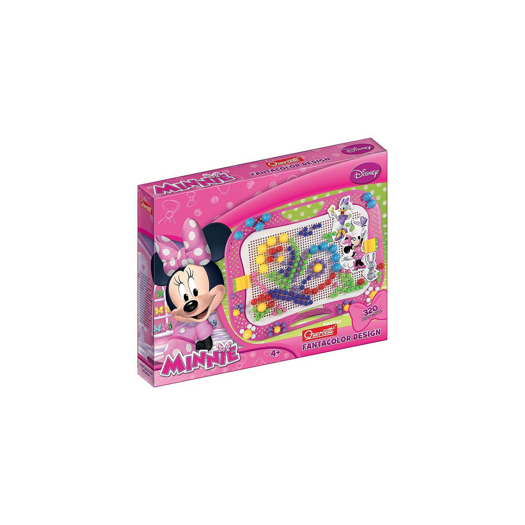 Quercetti Fanta Color Minnie Mouse, 320-tlg.