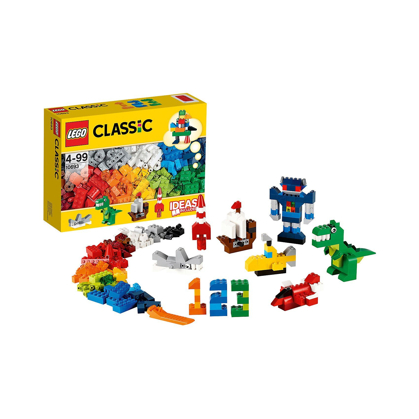 LEGO 10693 Classics: Baustein-Ergänzungsset